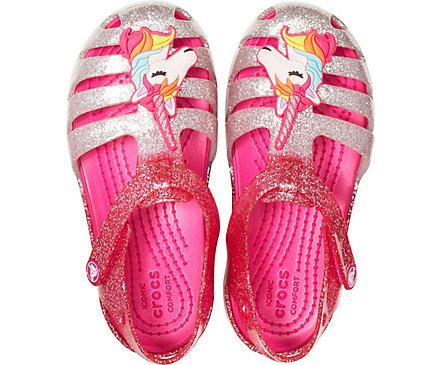 2cce75d6f6540 Crocs Isabella Charm Unicorn Sandal - 205535-6PD